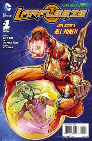 Larfleeze issue 1