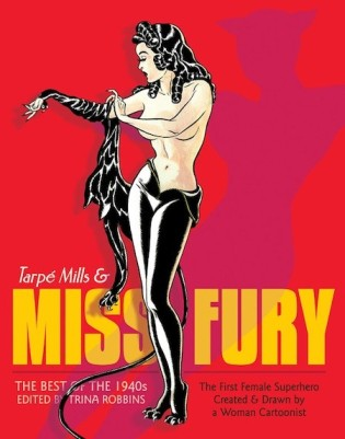 Miss Fury first anthology cover