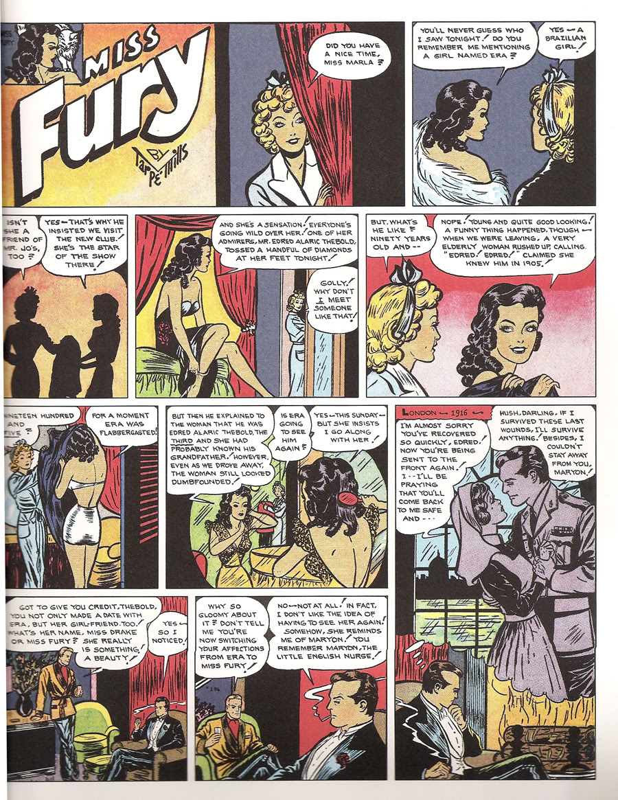 Review Idw S Anthology Of Tarp 233 Mills S Classic Miss Fury