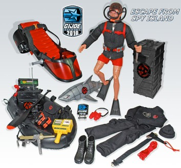 Spy Island remake toys