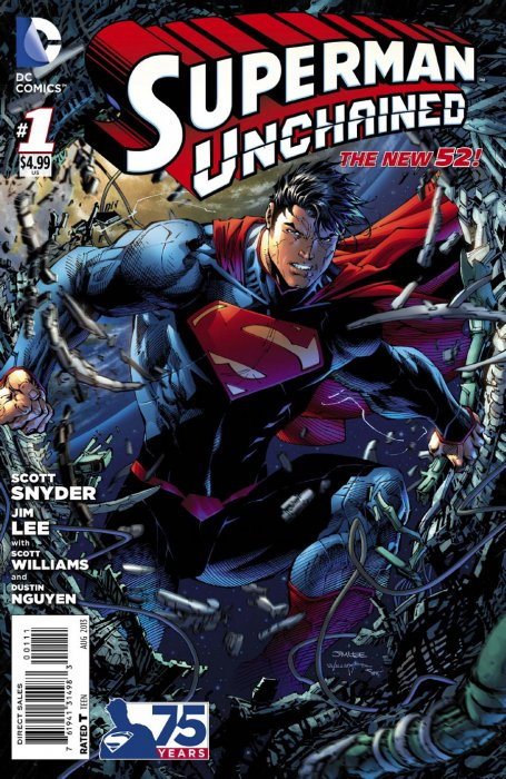 Golden Age Superman Unchained 1 Standard Edition