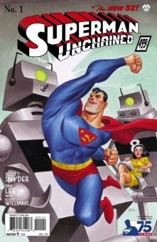 Superman Unchained alt cover Issue 1