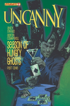 Uncanny Issue 1 Dan Panosian cover