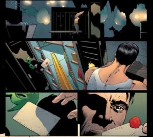 Batman and Robin Issue 18 without words