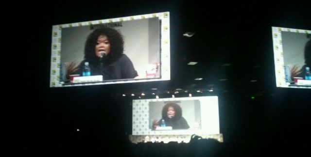 Community from the back row of Hall H