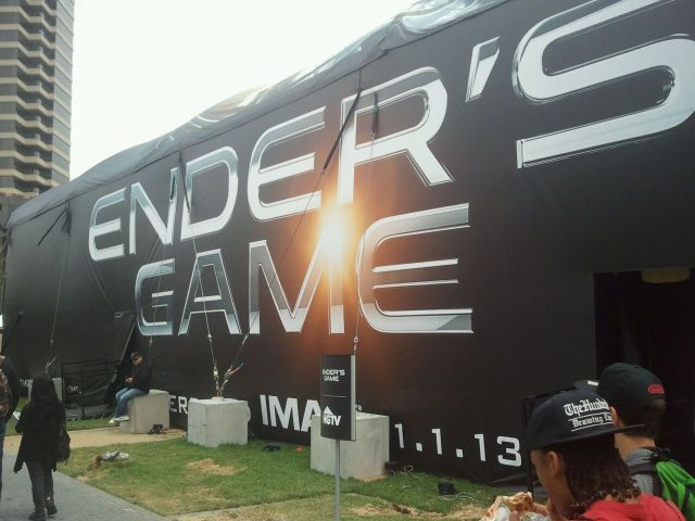 Enders Game exhibit