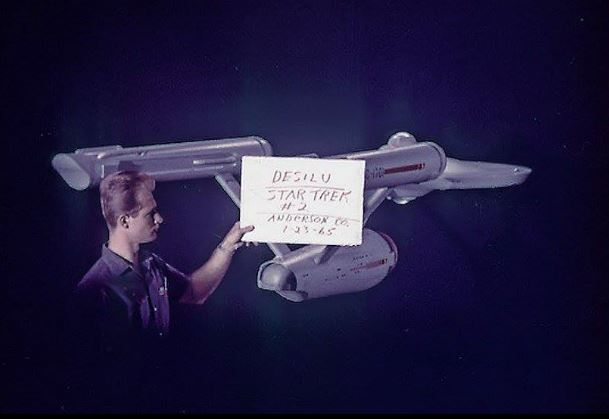 Enterprise clapperboard