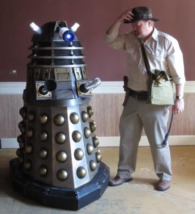 Dalek vs Indiana Jones