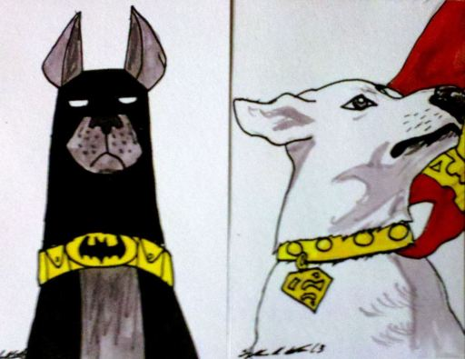 Krypto and Ace