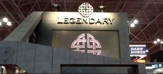 Legendary Booth at Comic-Con 2013