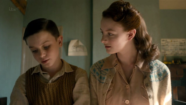 Lightfields Henry Mills as young pip and Dakota Blue Richards
