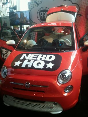 Nerd HQ car
