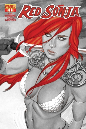 Red Sonja cover issue 1 print 2