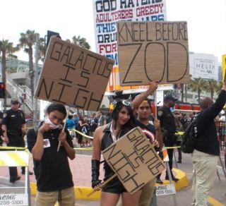 SDCC 2013 anti-protesters
