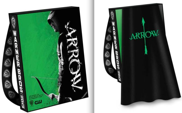 SDCC 2013 Arrow swag bag