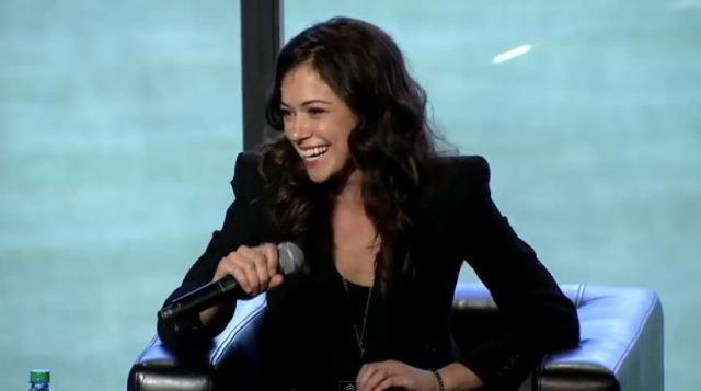 Tatiana Maslany Nerd HQ panel 2013