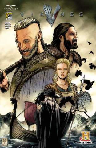 Vikings prequel comic book SDCC 2013 exclusive