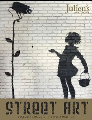 Banksy Flower Girl auction