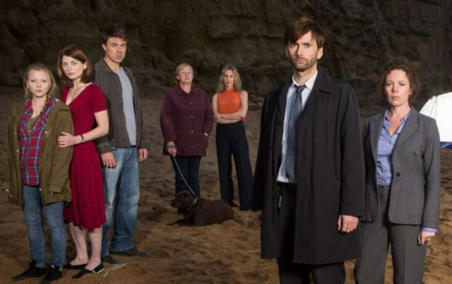 Broadchurch Tennant and Whittaker