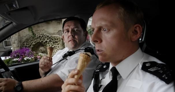 HOT FUZZ Cornetto Time