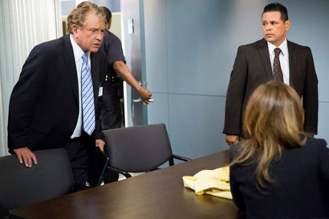 Jack and Sanchez in Major Crimes