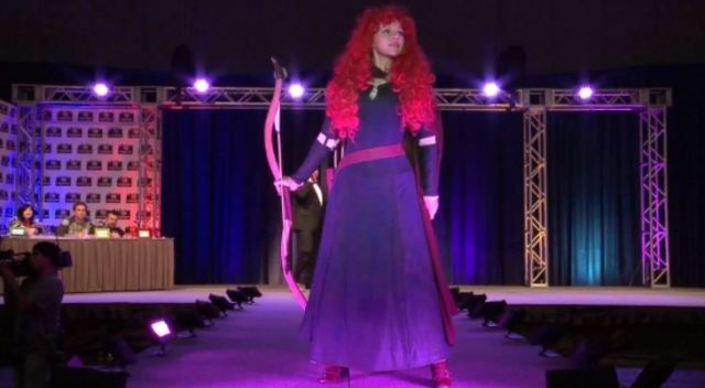 Judges and Merida on Heroes of Cosplay