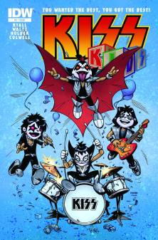KISS Kids Issue 1 cover