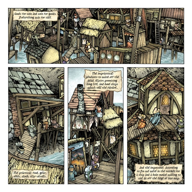 Mouse Guard The Black Axe interior page
