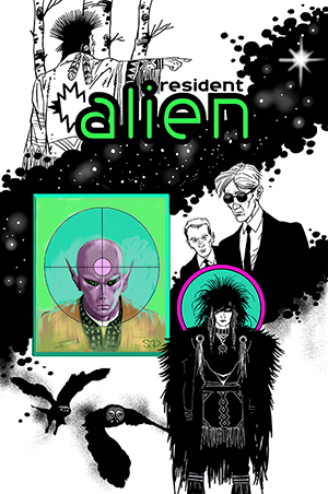 Resident Alien issue 0