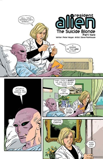 Resident Alien page