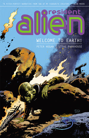 Resident Alien Welcome to Earth TPB