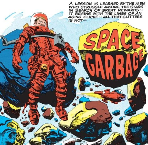 Space Garbage panel