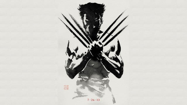 The Wolverine Japan theme poster