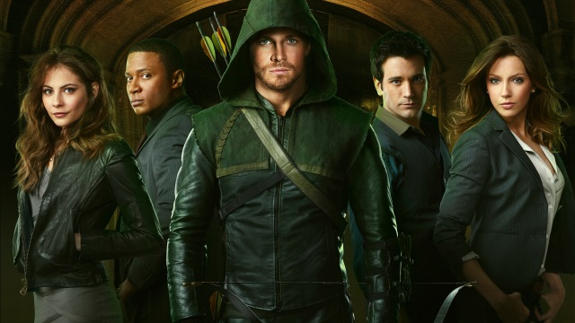 Arrow season one cast