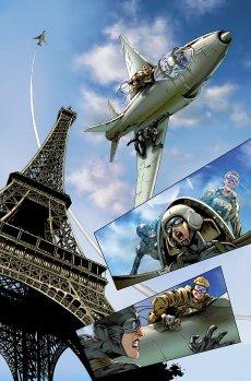 Codename Action Lau interior page art