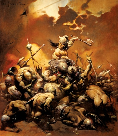 Conan by Frazetta