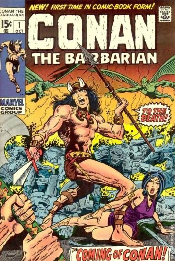 Conan Marvel Comics Issue 1