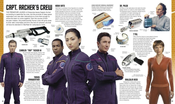 Enterprise crew in Visual Dictionary