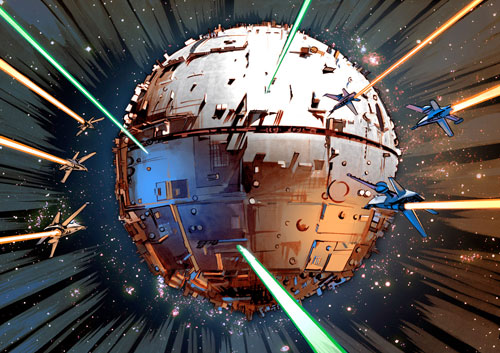 Interplanetary menace in The Star Wars 2