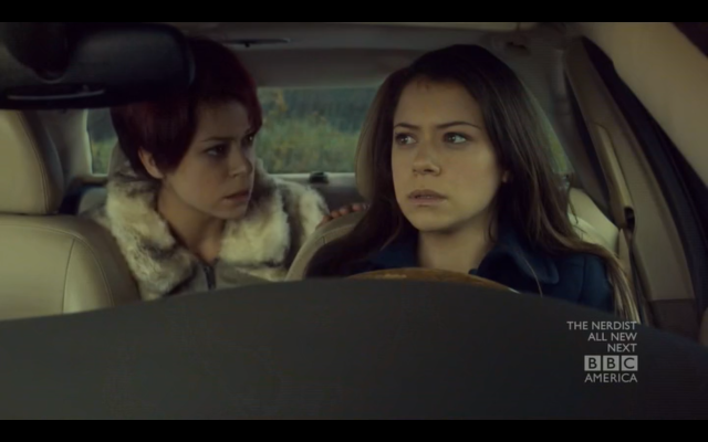 Maslany as Katja and Sarah on Orphan Black