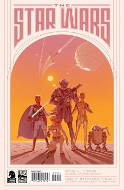 McQuarrie variant cover The Star Wars 2