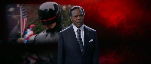 Samuel L Jackson in RoboCop