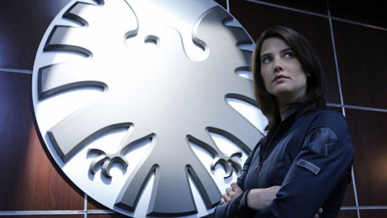 Smulders in Agents of SHIELD pilot