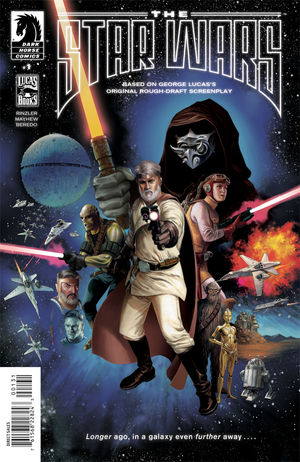The Star Wars Issue 1 cover