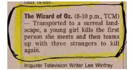 Wizard of Oz reference