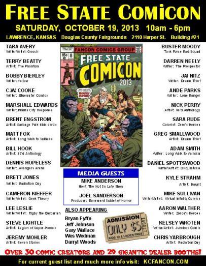 2013 Freecon poster