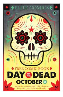 Bryan Fyffe poster for 2013 Elite Comics Day of the Dead