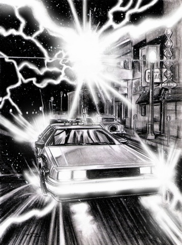 Carbajal sketch in new BTTF book