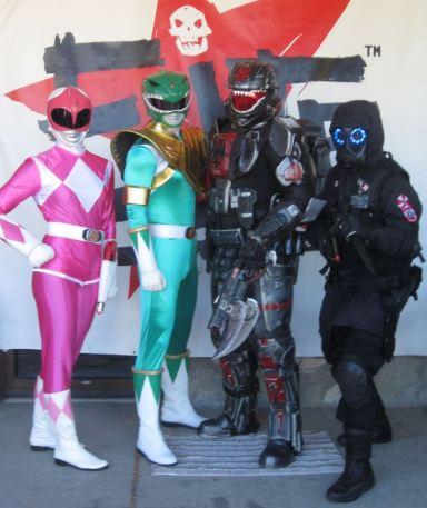 HALO and Power Rangers Elite 2013