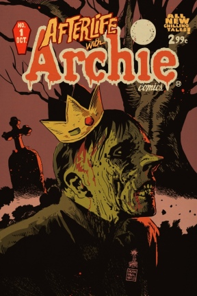 Jughead in Afterlife with Archie alt cover